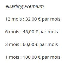 Prix eDarling